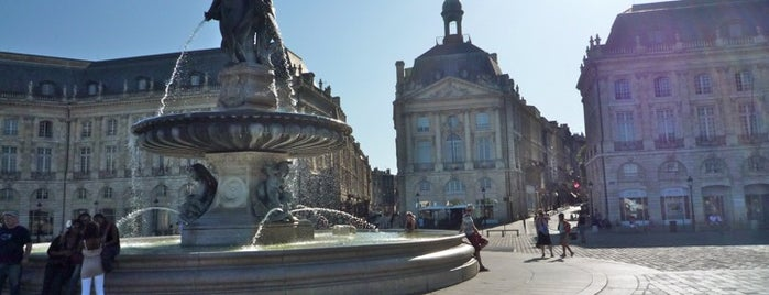 Place de la Bourse is one of Bordeaux.