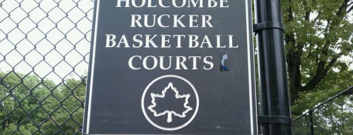 Rucker Park Basketball Courts is one of NYC.