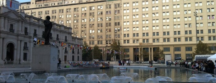 Plaza de la Ciudadanía is one of Santiago en 100 lugares.