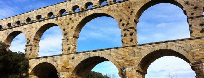 Pont du Gard is one of wonders of the world.