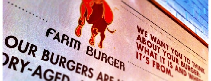 Farm Burger is one of Atlanta Burgers FTW.