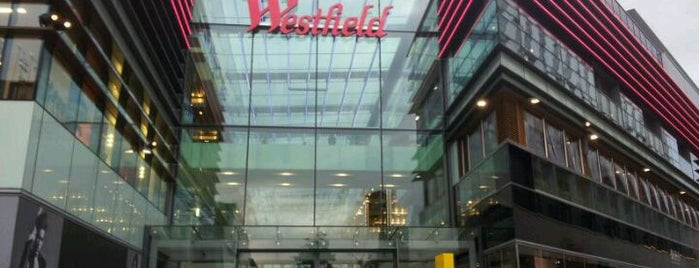 Westfield Stratford City is one of Orte, die Anastasia gefallen.