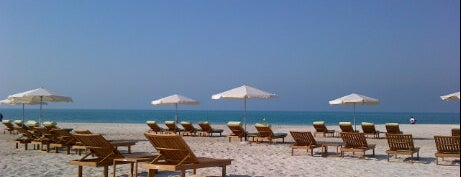 St Regis Beach جزيرة السعديات is one of Relax in Abu Dhabi.