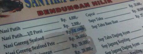 RM Santika Baru Seafood is one of Jakarta, Indonesia.