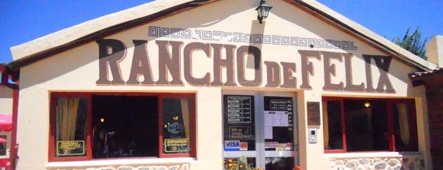 Rancho de Félix is one of Restaurantes en Fondo de Olla.
