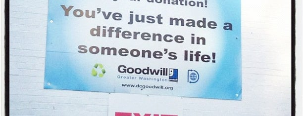 Goodwill Retail Store / Donation Center is one of Shopping around town.
