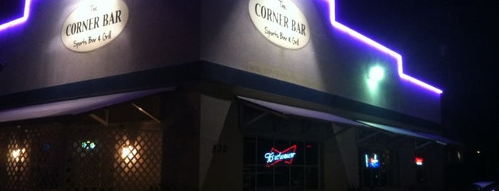 The Corner Bar is one of St. Augustine and area.