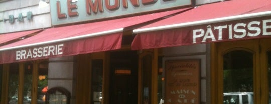 Le Monde is one of 20 favorite restaurants.