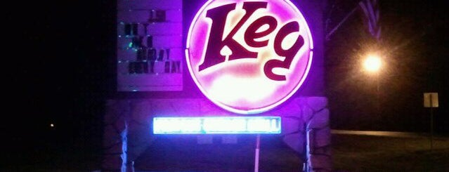 The Keg Lounge and Grill is one of Orange beach.