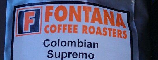 Fontana Coffee Roasters (Wholesale only) is one of Lieux sauvegardés par Leslie.