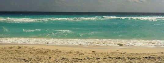 Playa Marlin is one of Swimmies Cancún.