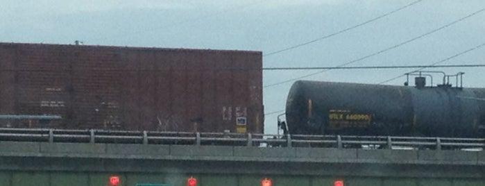 Arthur T. Bacon Bridge Over Windy hill is one of Marietta & Atlanta.