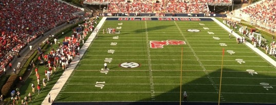 Vaught-Hemingway Stadium is one of FBS Stadiums.