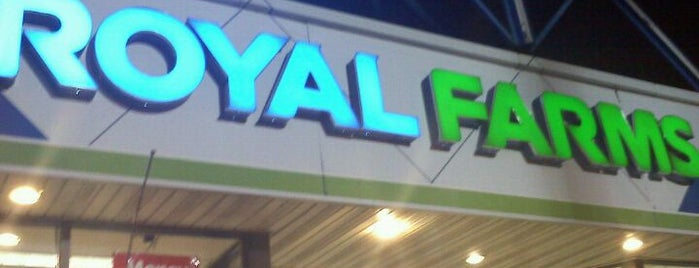 Royal Farms is one of Food.