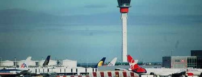 Aeroporto de Londres-Heathrow (LHR) is one of Airports Visited.