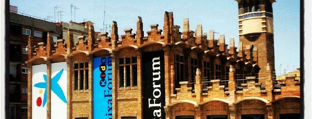 CaixaForum Barcelona is one of Barcelona Sites.