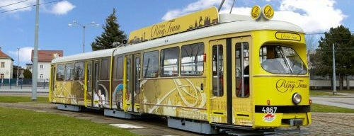 Vienna Ring Tram is one of Vienna, Austria - The heart of Europe - #4sqCities.