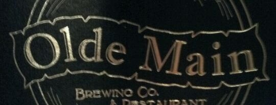 Olde Main Brewing Co. is one of An Iowa Brewery Tour.