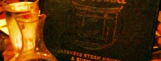 Kabuki Japanese Steakhouse is one of Tempat yang Disukai Anna.