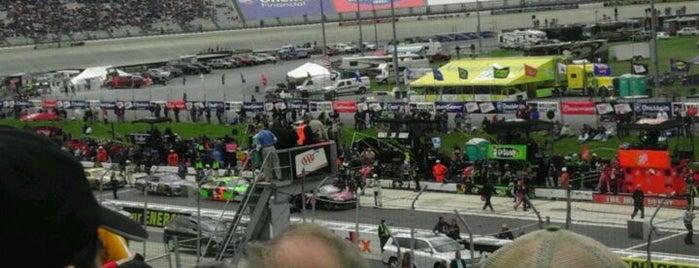 Dover International Speedway is one of Racetracks Around America.