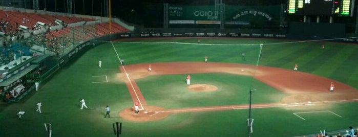 Mokdong Baseball Stadium is one of Best Stadiums.