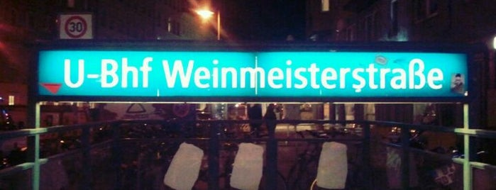 U Weinmeisterstraße is one of U & S Bahnen Berlin by. RayJay.