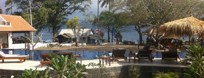 Oceans 5 dive resort Gili Air is one of Bali 2.0.