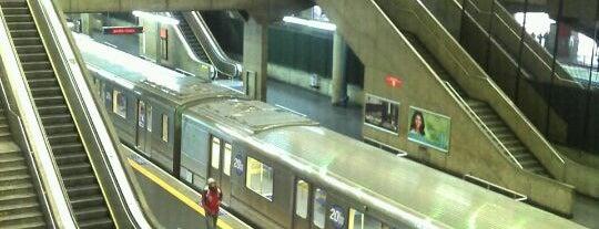 Estação Palmeiras-Barra Funda (Metrô) is one of Posti che sono piaciuti a M..