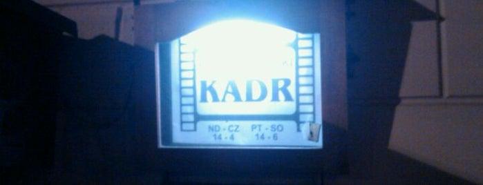 Kadr is one of Top Restaurants, Pubs & Clubs in Torun.