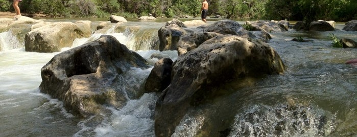 Sculpture Falls is one of Austin Adventures.
