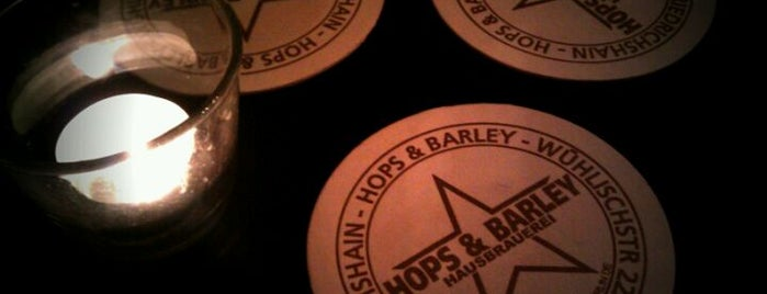 Hops & Barley is one of Berliner Bier.