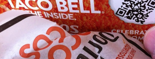 Taco Bell is one of Cinci Work Food.