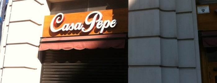 Casa Pepe is one of Tapas in Barcelona.
