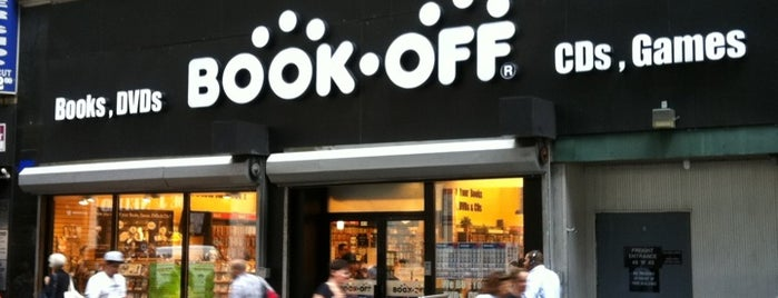 Book Off is one of USA NYC MAN Midtown East.