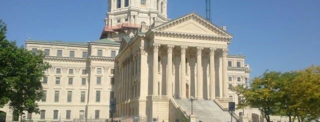 Kansas State Capitol is one of The Crowe Footsteps.