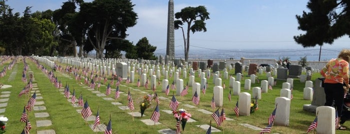 Fort Rosecrans National Cemetery is one of San Diego's 59-Mile Scenic Drive.