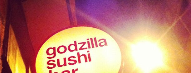 Godzilla Sushi Bar is one of Athens.