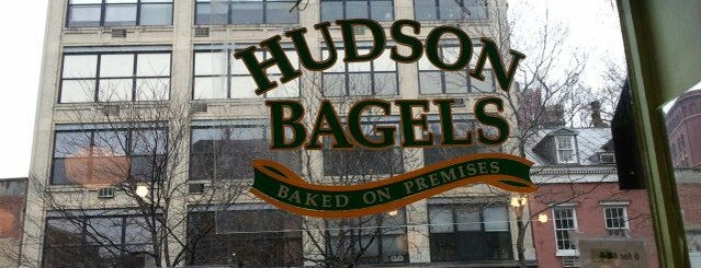 Hudson Bagels is one of NYC.