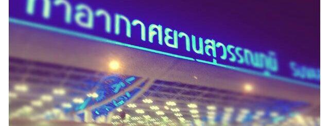 Suvarnabhumi Havalimanı (BKK) is one of Around Bangkok | ตะลอนทัวร์รอบกรุงฯ.