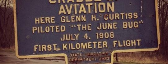 Glenn H. Curtiss Museum is one of Locais curtidos por Joanne.