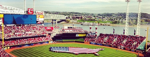Great American Ball Park is one of US Pro Sports Stadiums - ALL.