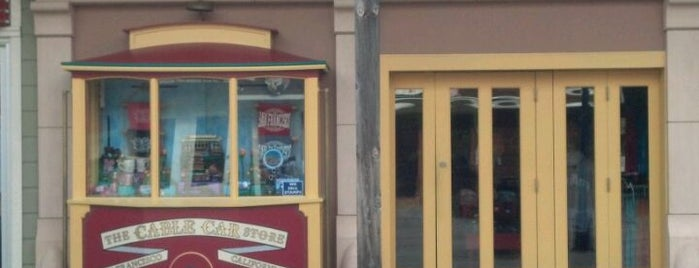 The Cable Car Store is one of Todo list for San Fran / Palo Alto trip:.