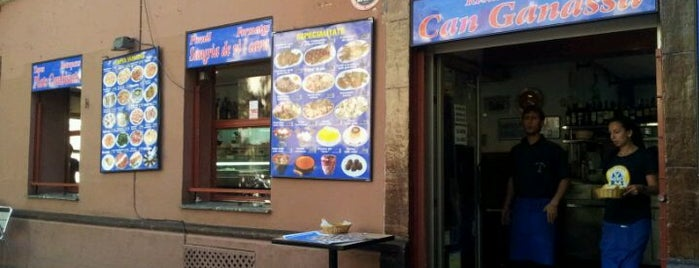 Can Ganassa is one of En Ocasiones Veo Bares Barcelona.