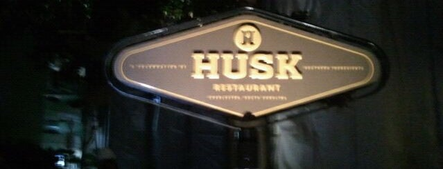 Husk is one of Charleston SC's Top 10 Restaurants.