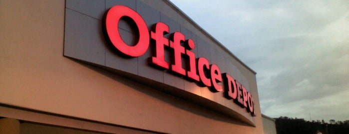 Office Depot is one of Nath 님이 좋아한 장소.