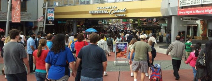 Universal CityWalk is one of My vacation @Orlando.