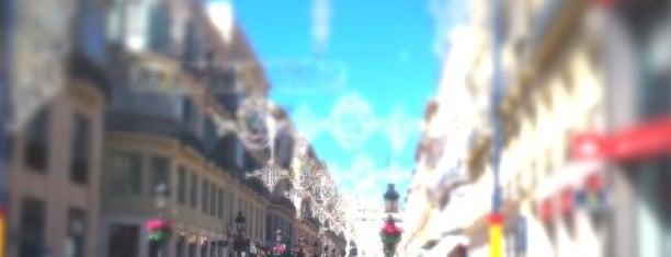Calle Marqués de Larios is one of Málaga #4sqCities.