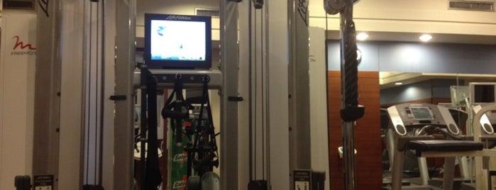 Westin Hotel Fitness Center is one of Bill'in Beğendiği Mekanlar.