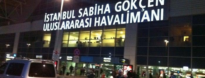 Aeropuerto Internacional Sabiha Gökçen (SAW) is one of Türkiye'deki Havalimanları.