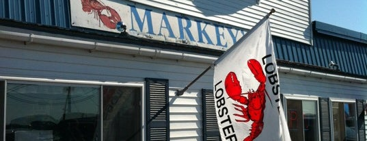Markey's Lobster Pool is one of New Hampshire.